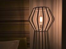 Lampe im Hotel Lizenzfreie Stockbilder
