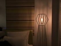 Lampe im Hotel Lizenzfreie Stockfotografie