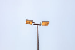 Lampe im Park Lizenzfreies Stockbild