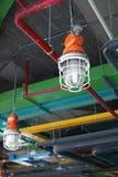 Lampe industrielle et système de la CAHT Images libres de droits