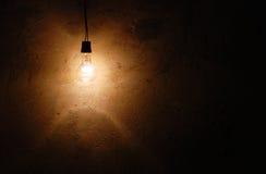 Lampe isolée Photographie stock libre de droits