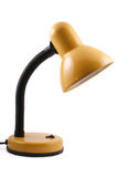 Lampe jaune Photo libre de droits
