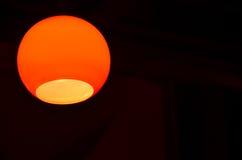 Lampe jaune Images stock