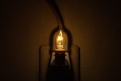 Lampe lumineuse Image libre de droits