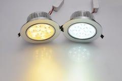 lampe menée commerciale Images stock