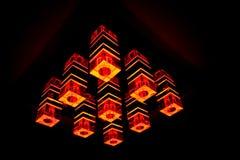 Lampe moderne images libres de droits