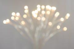 Lampe moderne brouillée avec le bokeh Photos libres de droits