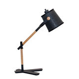 Lampe moderne de talbe d'isolement Photos stock