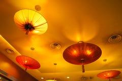 Lampe moderne de type Photographie stock libre de droits