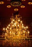 Lampe ou lumière dans le plafond Image libre de droits