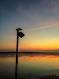 Lampe par le réservoir Photo libre de droits