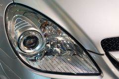 Lampe principale de véhicule Photographie stock libre de droits