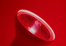 lampe rouge-clair Photos stock