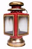 Lampe rouge de vintage Photographie stock libre de droits