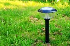 Lampe solaire Photographie stock libre de droits