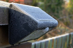 Lampe solaire Photo libre de droits