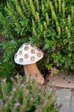 Lampe sous forme de champignon Photographie stock libre de droits