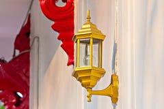 lampe sur le mur Photos libres de droits