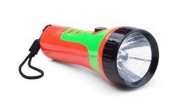 Lampe-torche électrique d'isolement Photo libre de droits
