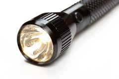 Lampe-torche brillante Images libres de droits
