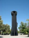 Lampe-torche - Claes Oldenburg et Coosje van Bruggen Image libre de droits