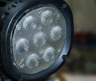 Lampe-torche de l'éclairage LED Photo libre de droits