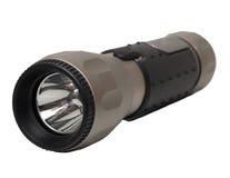 Lampe-torche en aluminium de DEL photographie stock