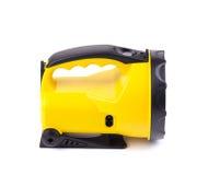 Lampe-torche jaune Image libre de droits