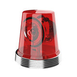 Lampe-torche rouge Images libres de droits
