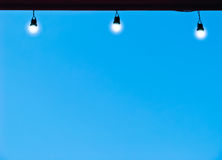 Lampe trois Image libre de droits