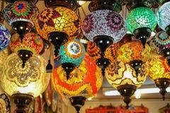 Lampe turque de mosa?que photo stock