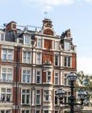 Lampe und London-Ebenen Lizenzfreie Stockfotografie