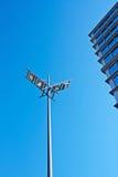 Lampe urbaine moderne Photos libres de droits