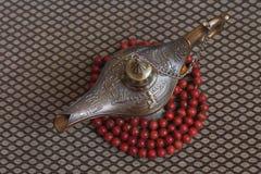 Lampe von Aladdin Stockfotografie