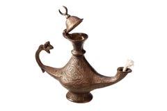 Lampe von Aladdin Lizenzfreie Stockbilder