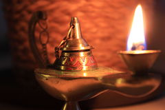Lampe von Aladin Stockfotos