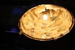 Lampe von Ideen stockfotografie