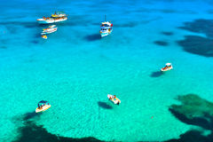 Lampedusa island Royalty Free Stock Images