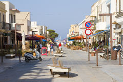 Lampedusa, Italia Immagini Stock Libere da Diritti