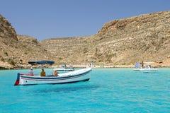Lampedusa, Italie Image libre de droits