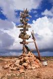 Lampedusa (Sicile) - où ? Photo stock