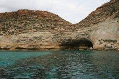 Lampedusa, Sicilia stockbild