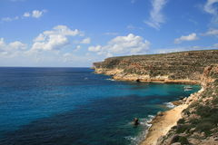 Lampedusa, Sicilia Royalty Free Stock Images