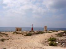Lampedusa wsi krajobraz Obraz Stock