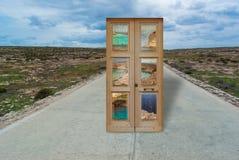 Lampedusasamenstelling Stock Foto