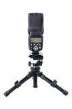 Lampeggiatore elettronico con il mini treppiede Fotografia Stock Libera da Diritti