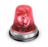 Lampeggiatore rosso Immagini Stock Libere da Diritti