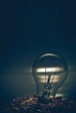 Lampen auf dem Hügel Lizenzfreies Stockfoto