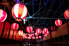 Lampen-Ball Asiatique, Thailand Stockbilder