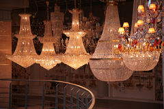 Lampen im Speicher Lizenzfreies Stockbild